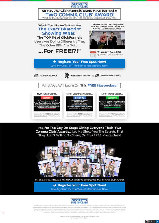 Search engine result page, basic search engine optimization A/B testing example.