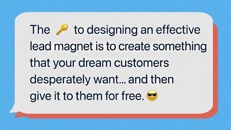 The key to designing an effective lead magnet graphic.