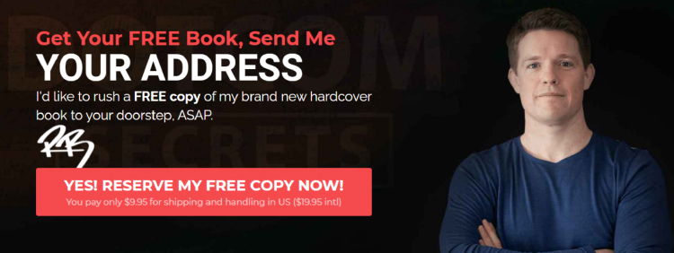 Long-Form Landing Page, ClickFunnels final call to action.