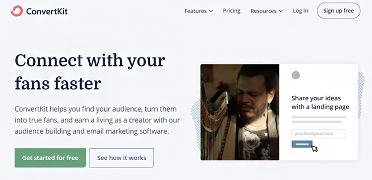 Clearly Define Your Dream Customers, ConvertiKit example.