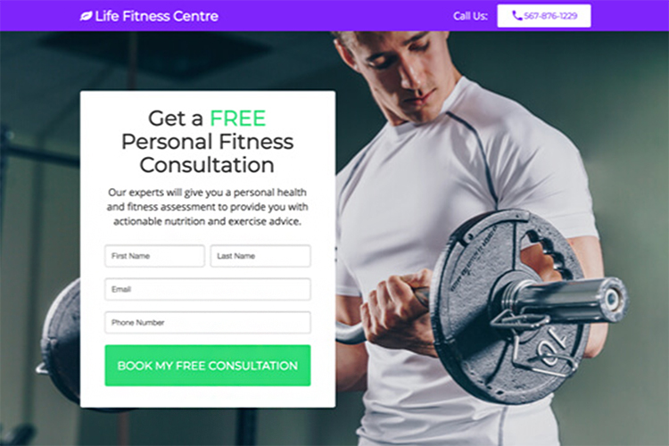 Free Audit/Consultation, Life Fitness centre example.
