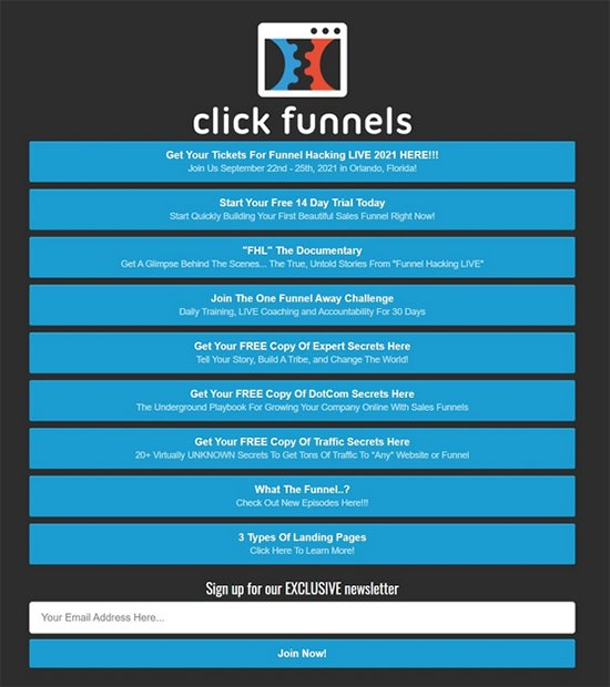 Promote Your Lead Magnet, link to more relevant resources webpage example.