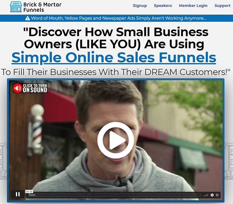 Create Flows, Clickfunnels lead magnet example.