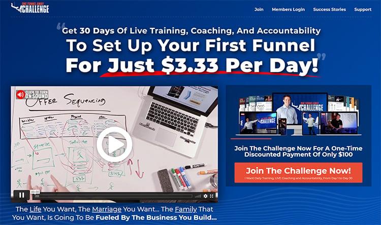 Create Flows, Beginner Sales Funnel, lead magnet example.
