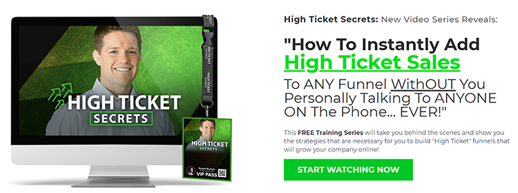 Create Flows, high ticket sellers, lead magnet example.
