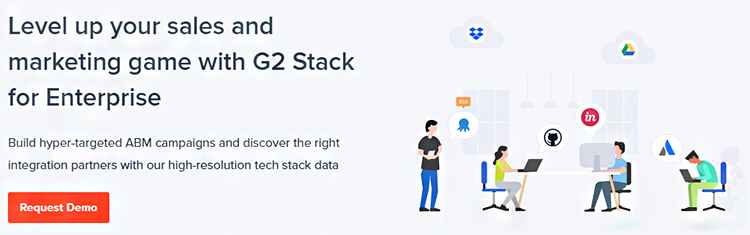 Conduct Research, G2 Stack (FKA Siftery) website homepage.
