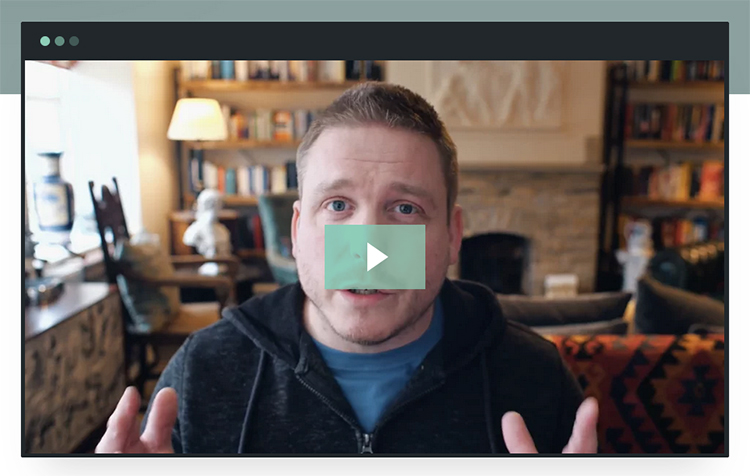 """Nick Stephenson's """"$0 to $1k Per Month"""" promotional video example."""