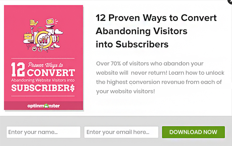 12 proven way to convert. Free gift example.