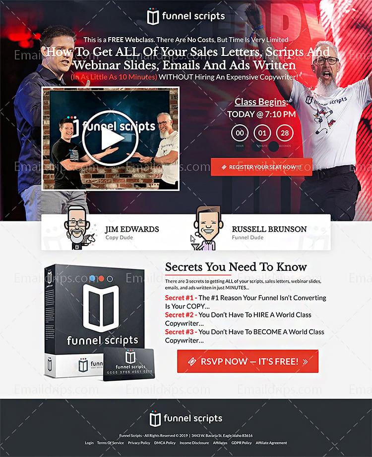 Strategies For B2B Lead Generation, webinars example.